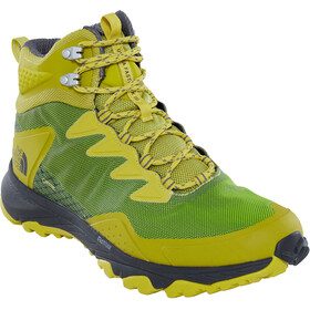 The North Face Ultra Fastpack III Mid GTX Shoes Men Citronelle Green/Zinc Grey